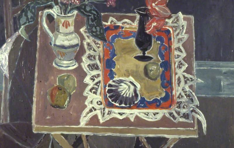 Still Life, Pointed Lace