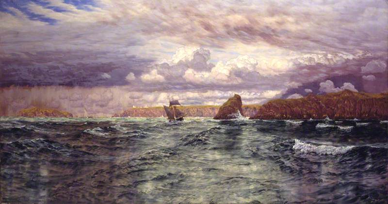 The Isles of Skomer and Skokholm