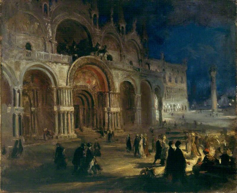 St Mark's by Moonlight, Venice