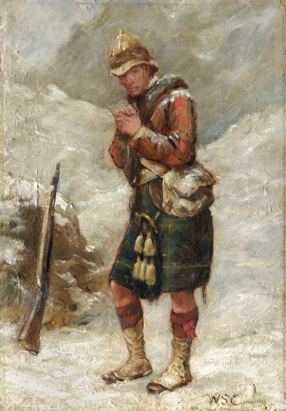 A Gordon Highlander in the Afghan War