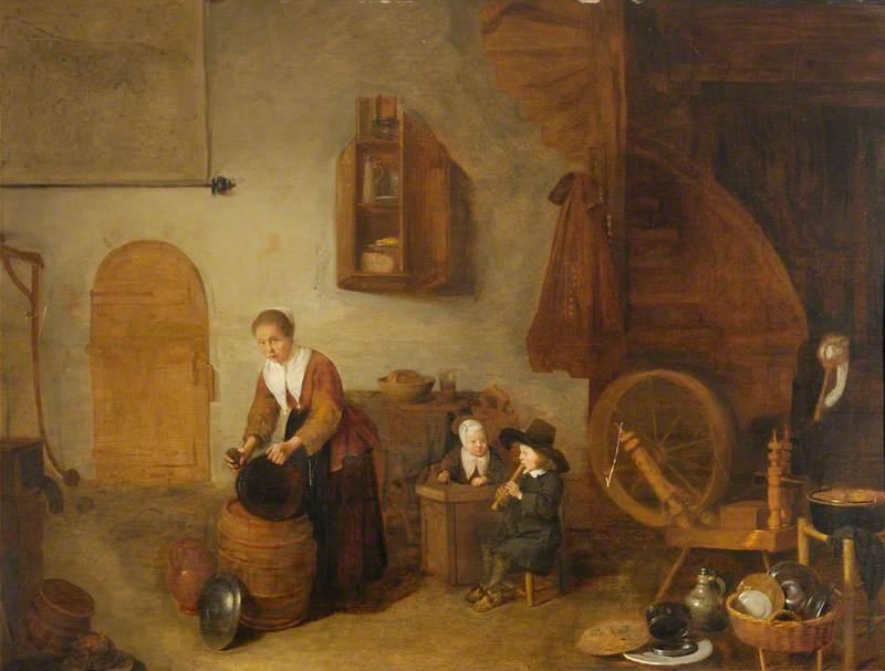 Domestic Dutch Interior