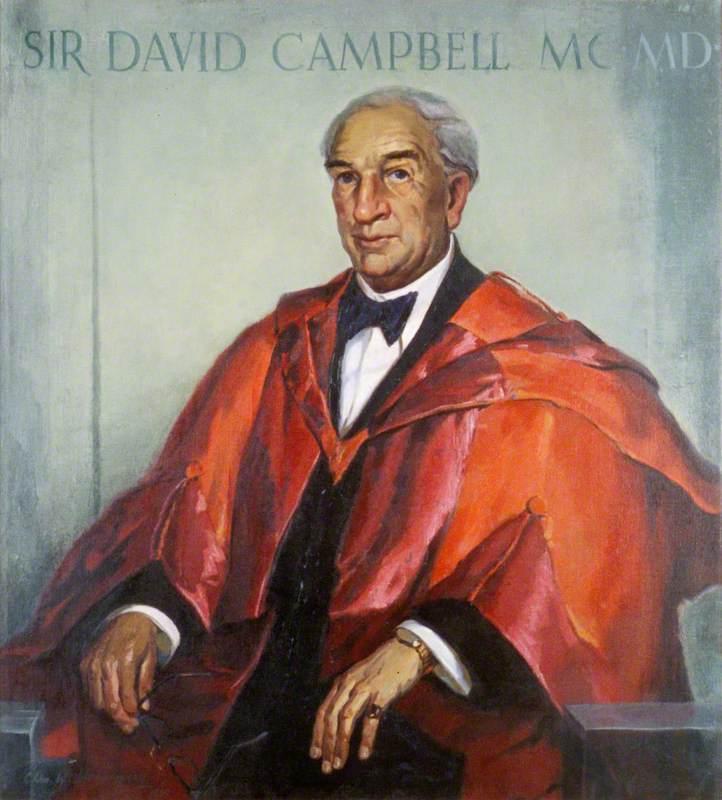 Sir David Campbell (1889–1978), MC, MD