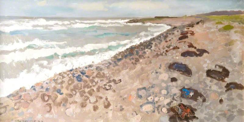 Stormy Seas near Gourdon, Aberdeenshire