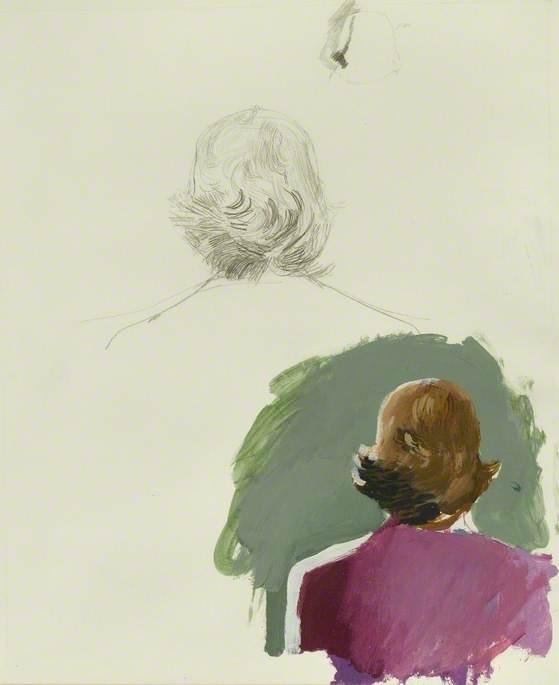 Study for 'Sur la terrasse'