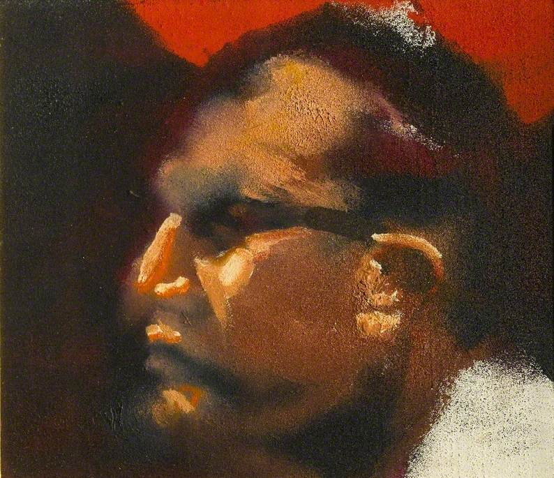 Study of a Head for 'Lights' No. 2