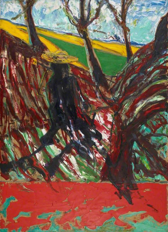 Study for a Portrait of Van Gogh VI