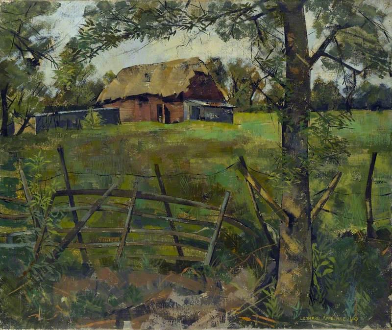 Barns in a Field