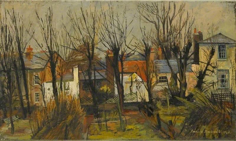 Backs of Houses, Keats Grove, Hampstead