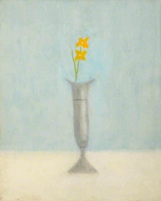 Grey Vase: Still Life