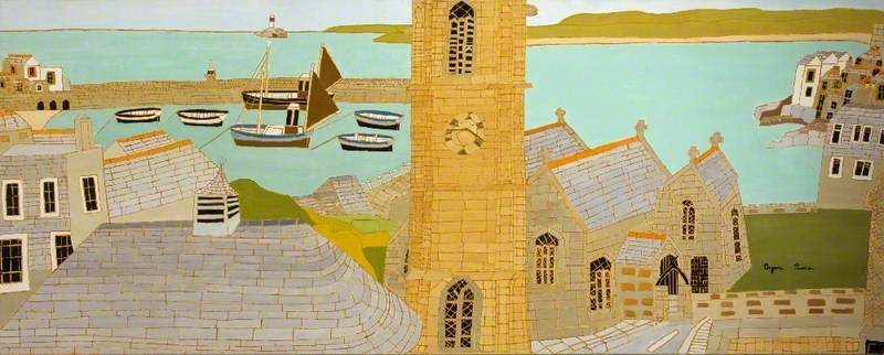 The Harbour and St Ia's Church, St Ives