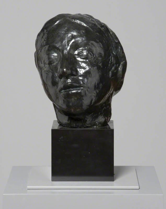 Head of Gwen John (1876–1939) (Head of Whistler's Muse) / Pen Gwen John (1876–1939) (Pen Awen Whistler)