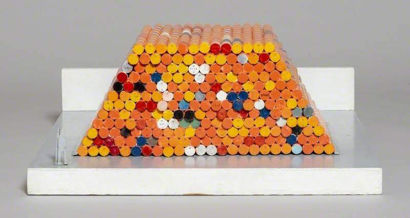 Model for 1,240 Oil Drums