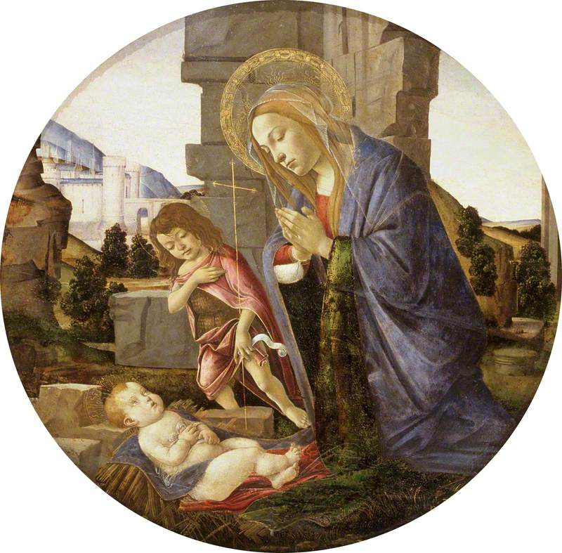 Virgin Adoring the Child with the Young Saint John