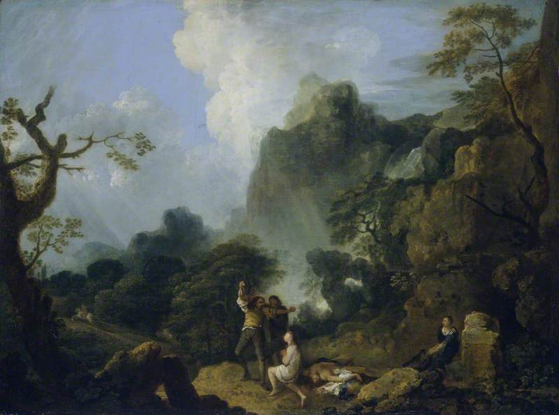 Landscape with Banditti: The Murder