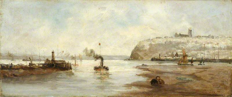 Lighthouse outside Cardiff Docks