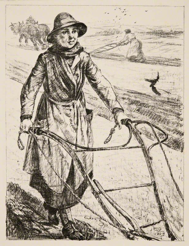 On the Land: Ploughing
