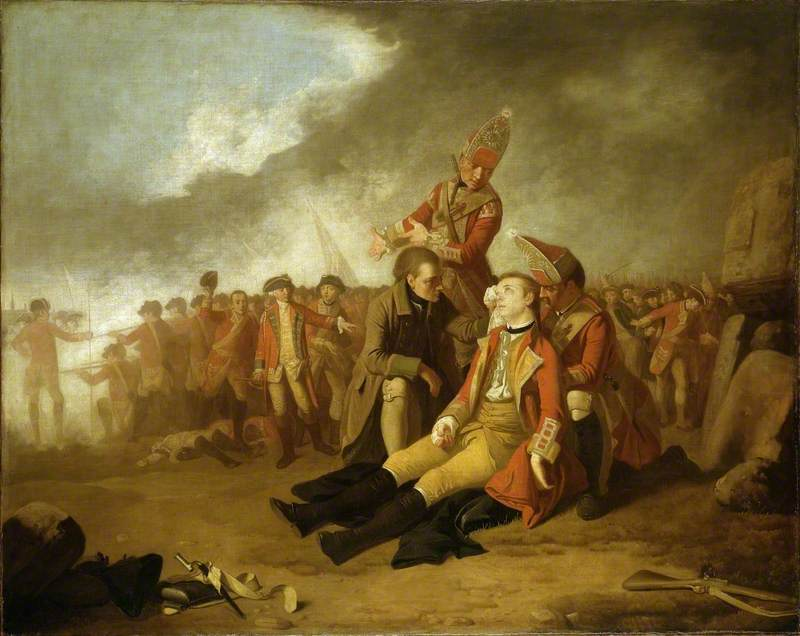 The Death of General Wolfe