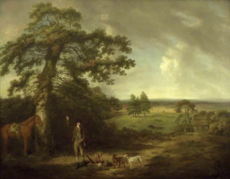 Landscape with a Sportsman