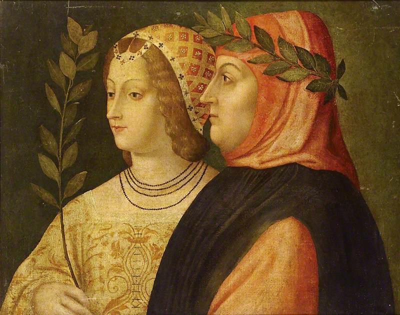 Petrarch and Laura de Noves
