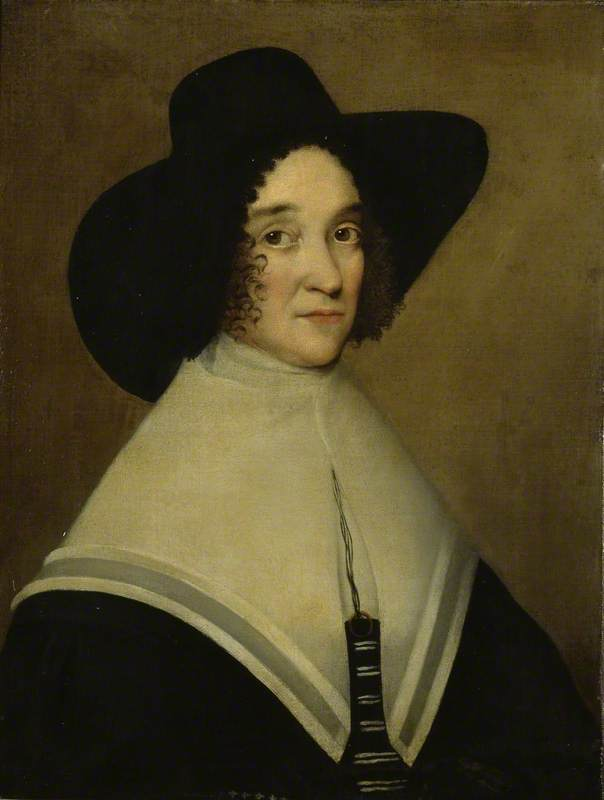 Hester Pookes, second Wife of John Tradescant the Younger