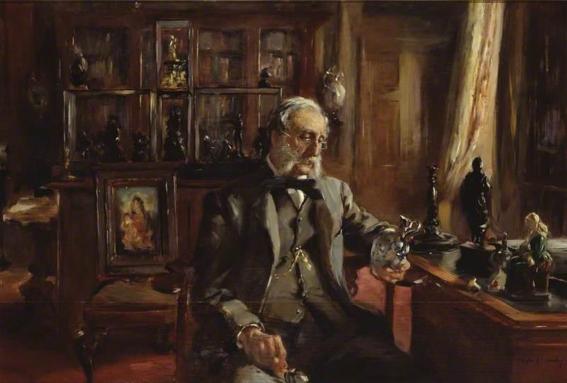 L'amateur chez lui (The Collector at Home)