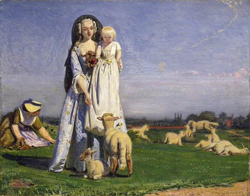 The Pretty Baa Lambs Art Uk