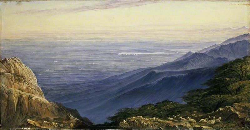 The Plains of Lombardy from Monte Generoso