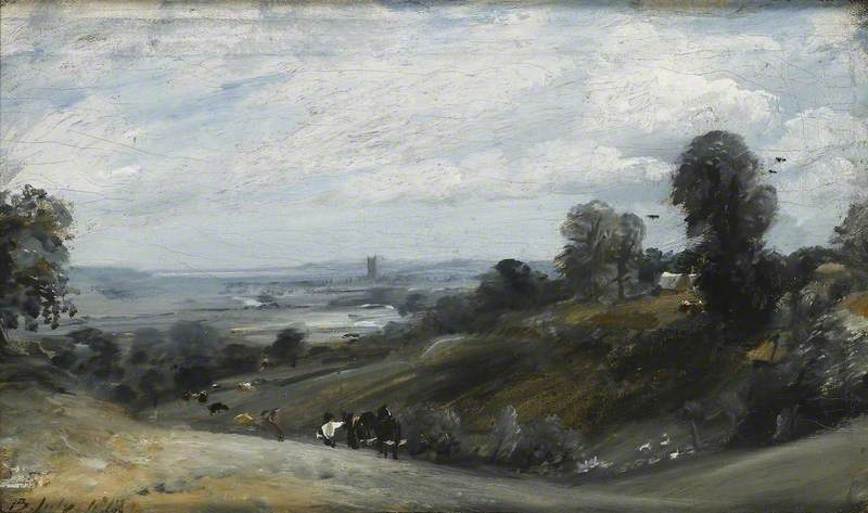 The Vale of Dedham from Langham