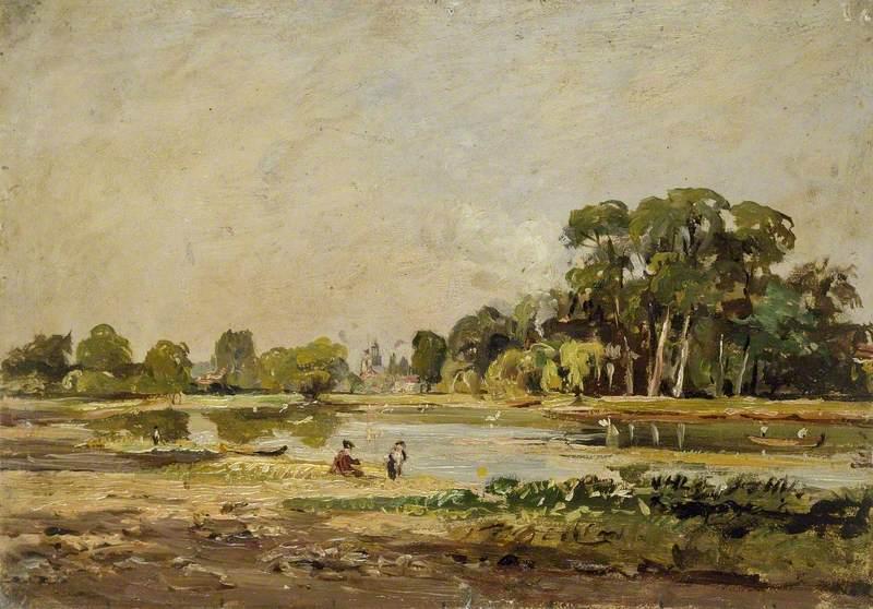 View across the Thames at Twickenham