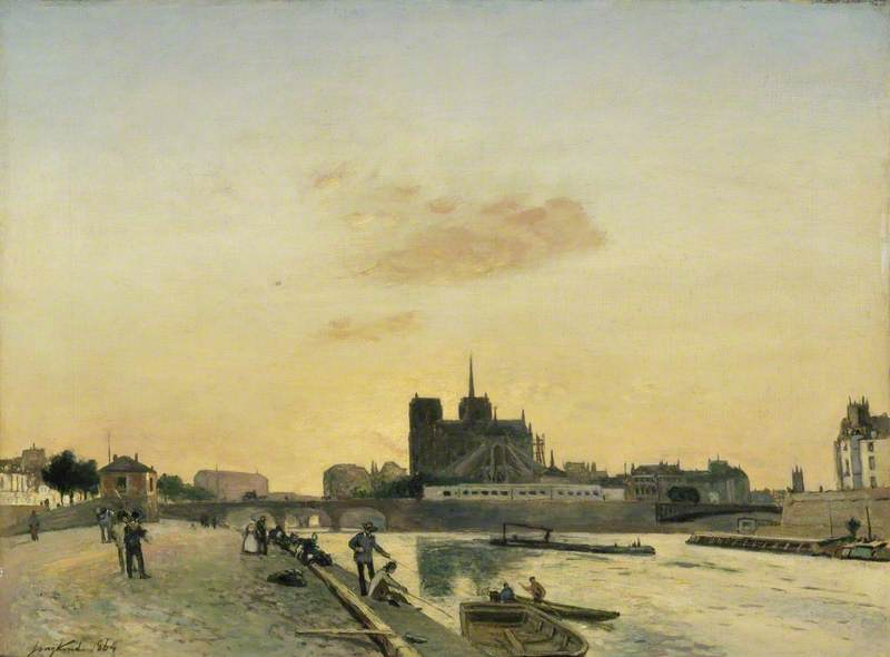 View of Notre-Dame, Paris