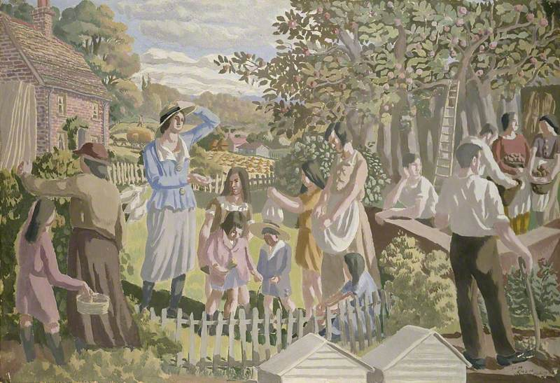 In the Orchard (The Apple Pickers)