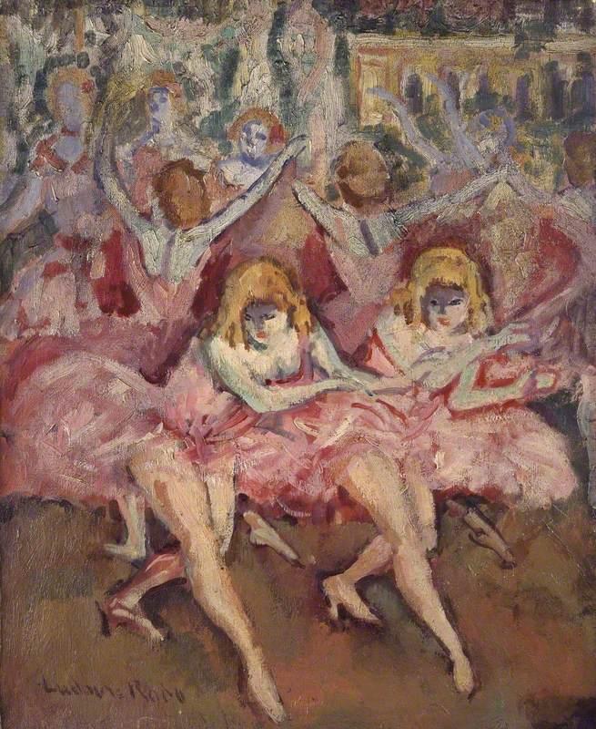 Danseuses roses