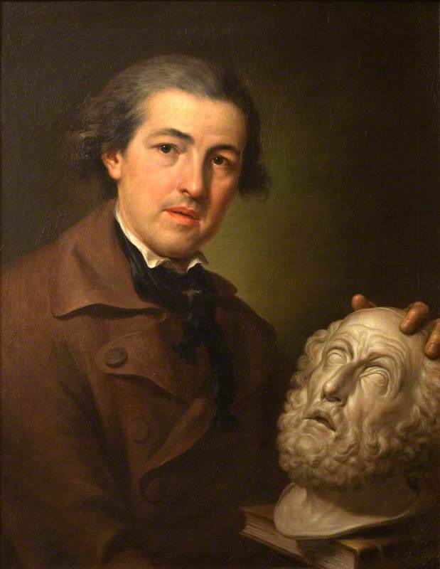 Giuseppe Franchi (1731–1806) with a Bust of Homer