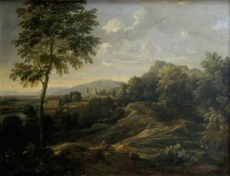Landscape in the Roman Campagna