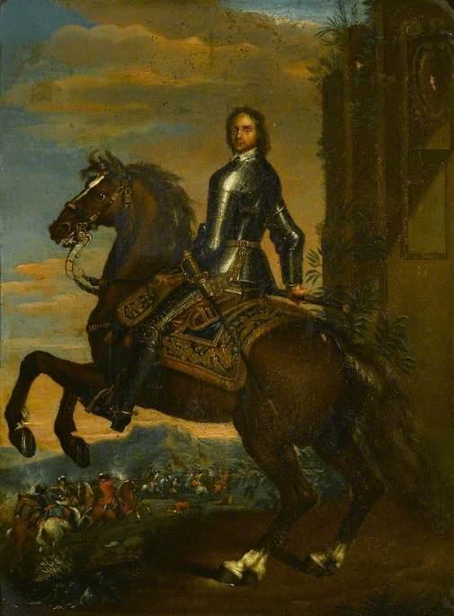 Oliver Cromwell (1599–1658), on Horseback