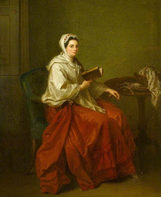 Mrs Russell (1707–1764), Wife of Colonel Charles Russell
