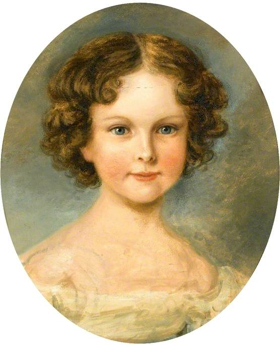 Caroline Agnes, the Artist's Daughter