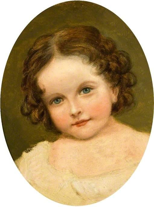 Julia Roberta Neville Grenville, the Artist's Daughter