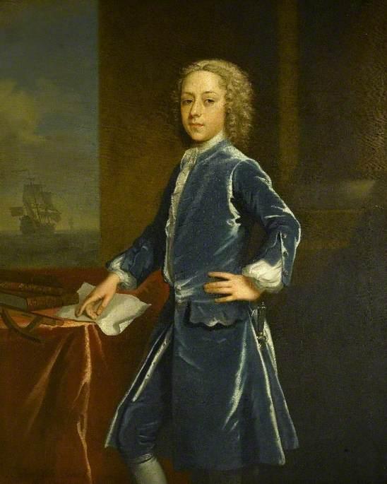 Midshipman Sir Thomas Frankland