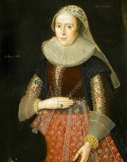 Mary Hawtrey (1587–1638), Lady Wolley