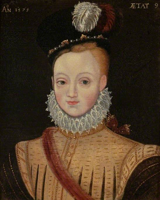James I (1566–1625), When a Child