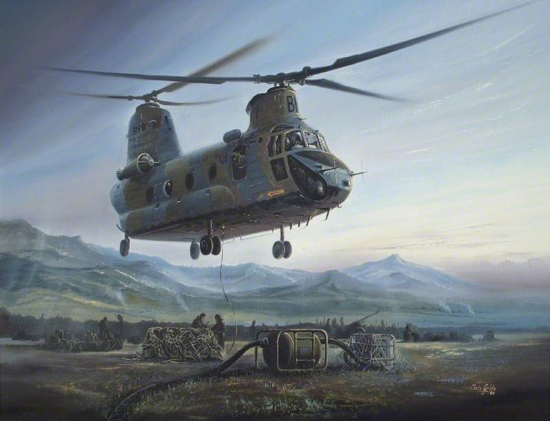 '…and again at dawn…' Chinook