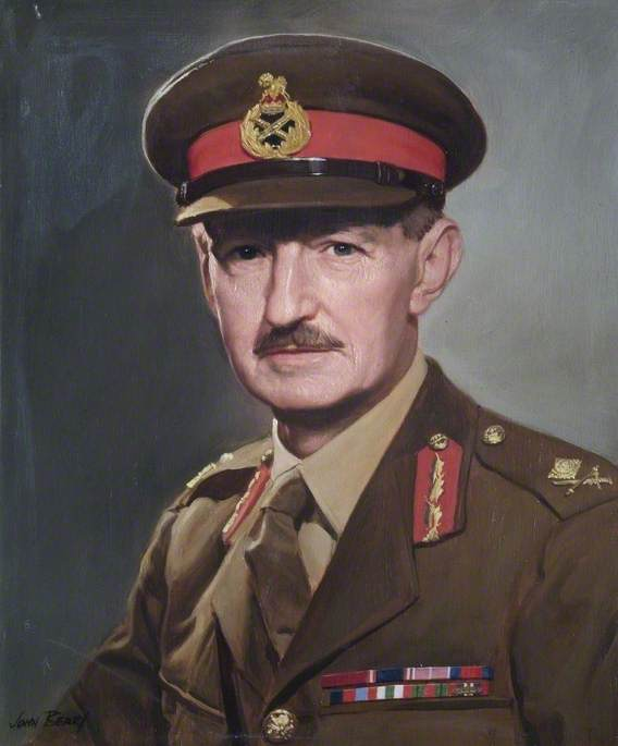 Major General W. H. Stratton (1903–1989), CB, CVO, CBE, DSO, Commandant (1949–1951)
