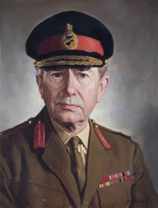 Major General P. N. White (1901–1982), CB, CBE, Commandant (1956–1958)