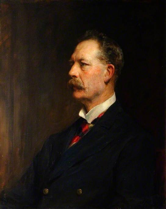The Right Honourable William Henry Grenfell (1855–1945), Lord Desborough of Taplow Court, Mayor of Maidenhead and High Steward of the Borough