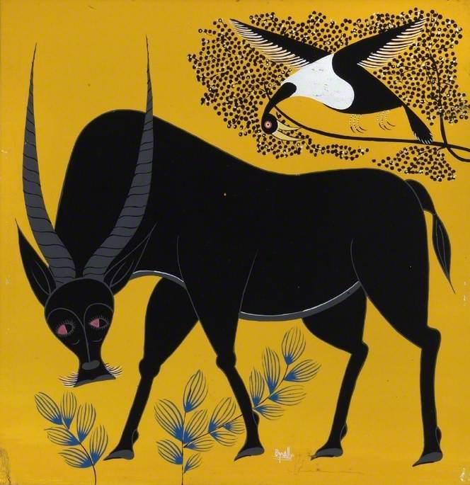 Oryx and Bird
