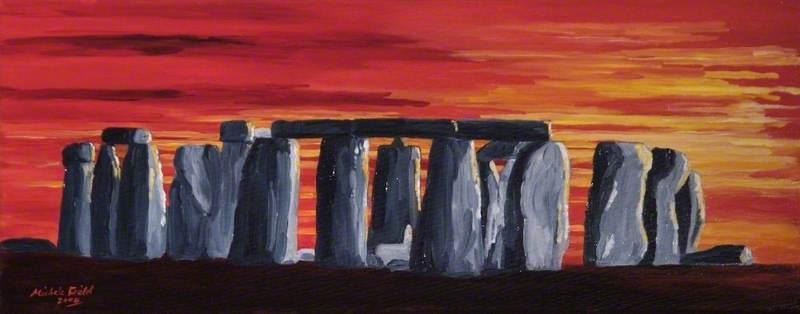 Red Stonehenge