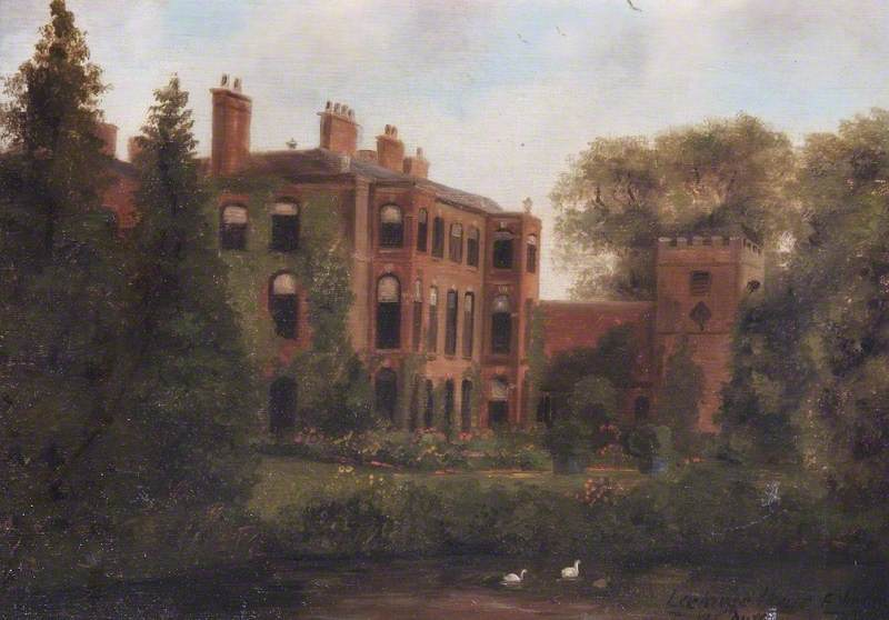 Lockinge House and Church, Berkshire