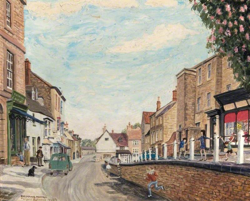 Spring Street, Chipping Norton, Oxfordshire