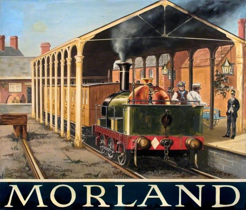 'Morland' Pub Sign